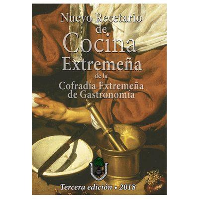 Portada Nuevo Recetario De Cocina Extremeña